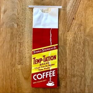 Vintage Temp-tation Coffee Bag